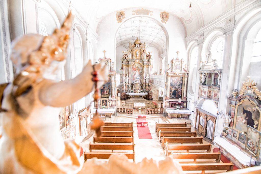 Kirchliche Hochzeit in Bayern – Hochzeitsfotograf Max Merget