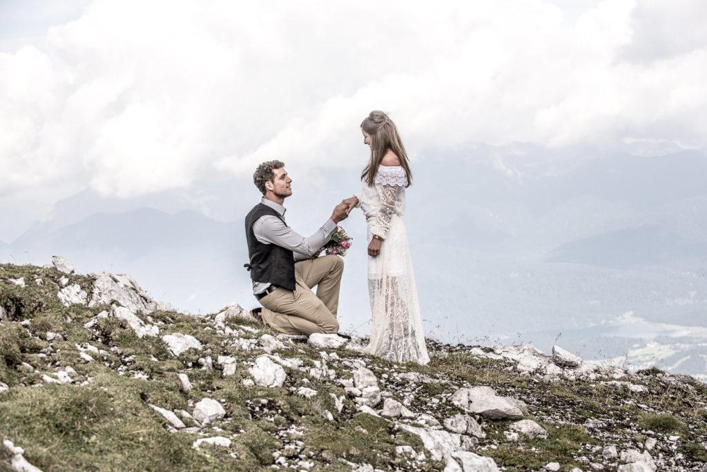 """""""Willst Du mich heiraten?"""" – Hochzeitsfotograf Max Merget in Garmisch, München, Starnberg und Umgebung"""